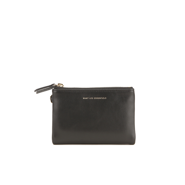 WANT LES ESSENTIELS Women's Aquino Wallet - Jet Black