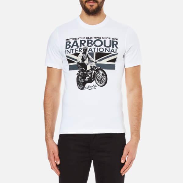 Barbour International Men's Rider T-Shirt - White