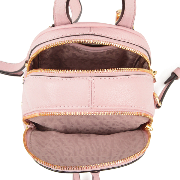 a8ff85ec6d8f MICHAEL MICHAEL KORS Rhea Zip Small Crossbody Backpack - Pink  Image 5