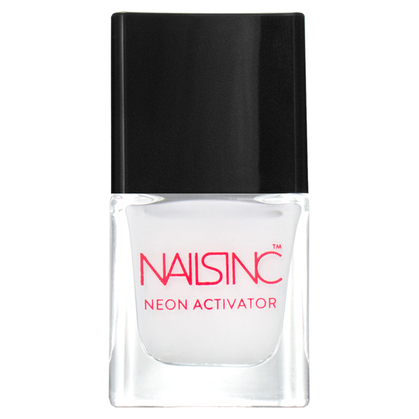 nails inc. Neon Activator Nagellack - Neon White Basis 5ml
