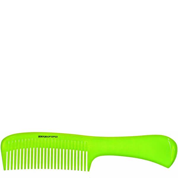 Denman Precision Rake Comb - Lime Green