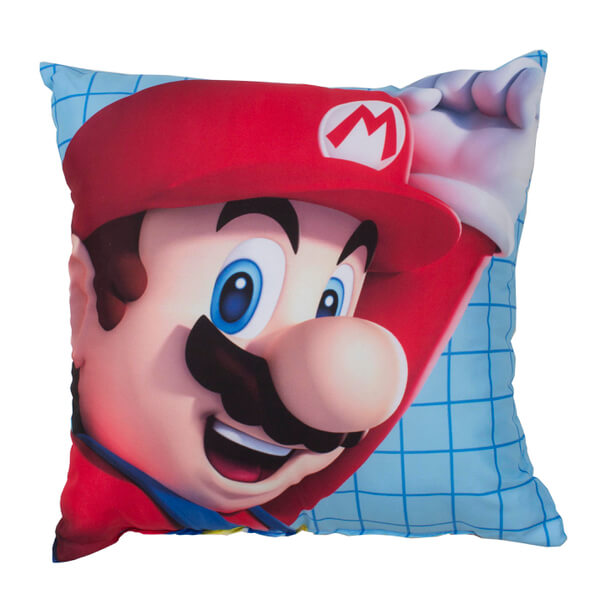 Mario Square Cushion