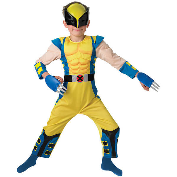 Marvel X-Men Boys' Wolverine Fancy Dress