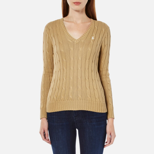 Polo Ralph Lauren Women's Kimberly Jumper - Berkshire Tan