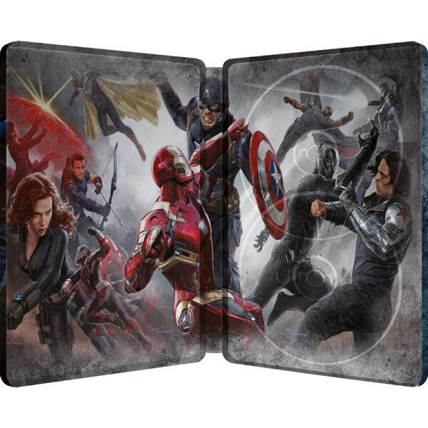 captain america  civil war 3d  includes 2d version