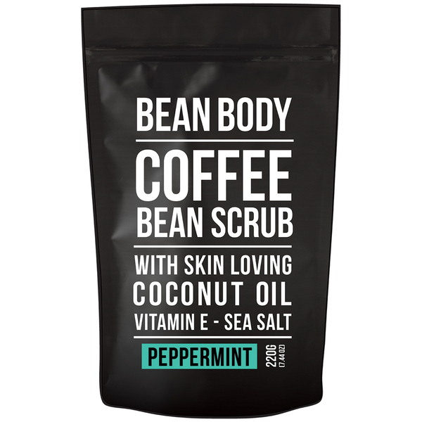 Bean Body Coffee Bean Scrub 220g - Peppermint
