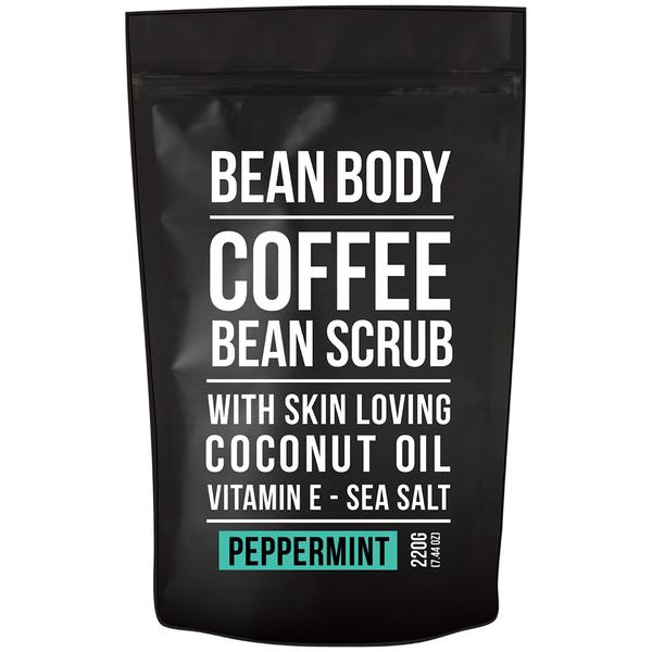 Exfoliante de Granos de Café de Bean Body 220 g- Menta