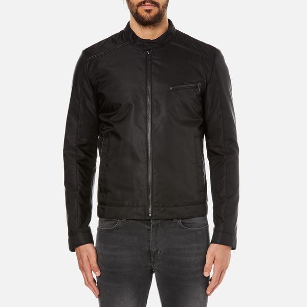 HUGO Mens Bandro Bomber Jacket – Black
