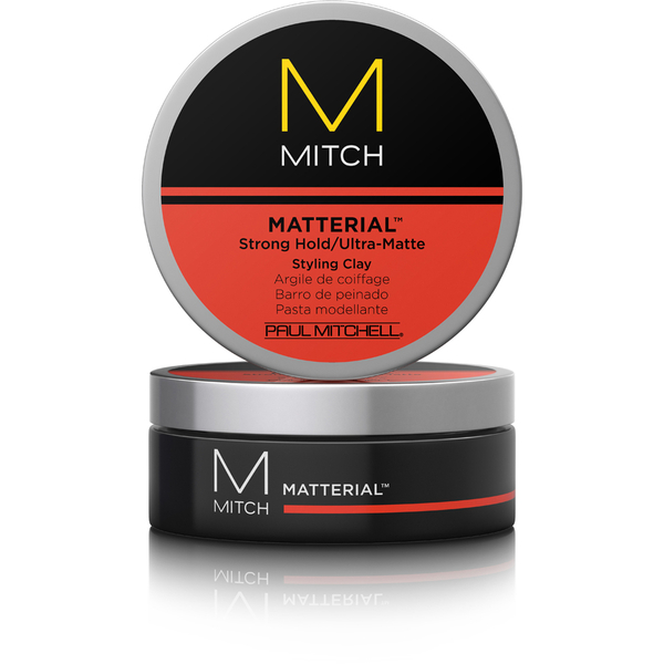 Mitch Matterial >> Paul Mitchell MITCH Matterial Ultra-Matte Styling Clay 85g | Free Shipping | Lookfantastic