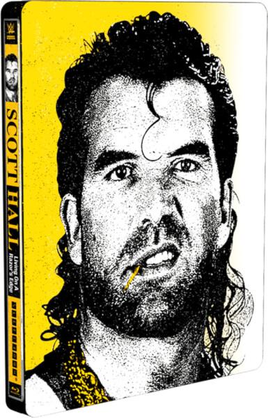 WWE: Scott Hall - Living On A Razor's Edge - Limited Edition Steelbook