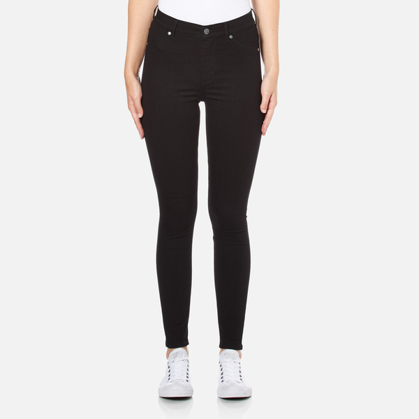 7bef87ddd43e Cheap Monday Women s High Spray Jeans - Black Clothing