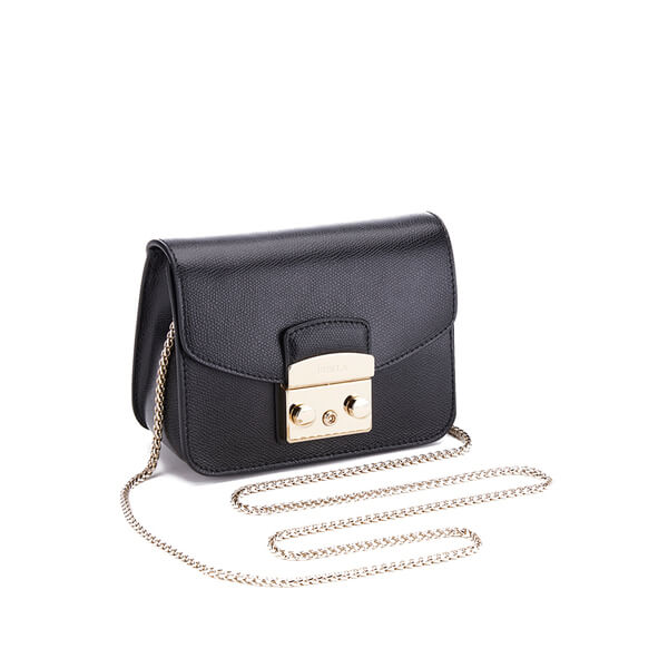 86359bddd3 Furla Women s Metropolis Mini Cross Body Bag - Black  Image 4