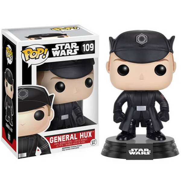 Star Wars: Le Réveil de la Force Général Hux Figurine Funko Pop!