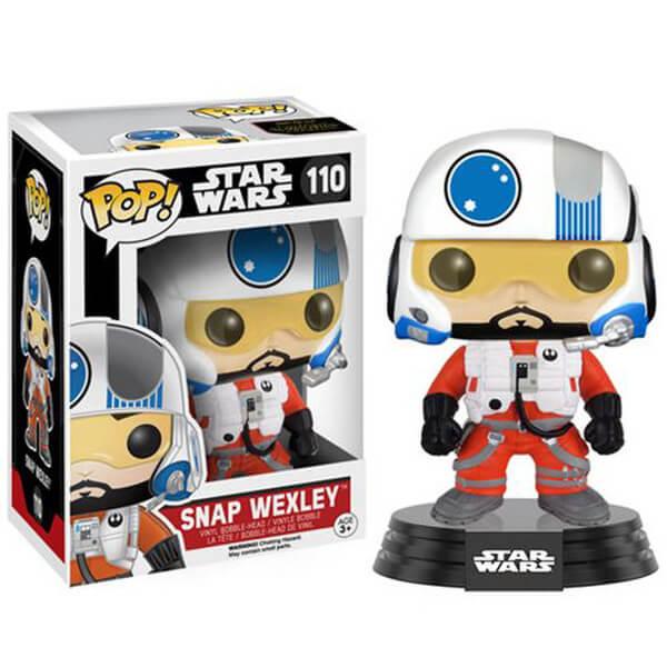Figurine Pop! Snap Wexley Star Wars: Le Réveil de la Force