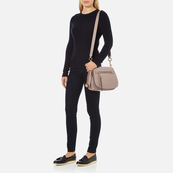 6b65ab4a3d Marc Jacobs Women s Recruit Saddle Bag - Mink  Image 8