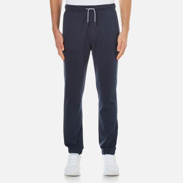 BOSS Green Men's Hadiko Cuffed Sweatpants - Blue