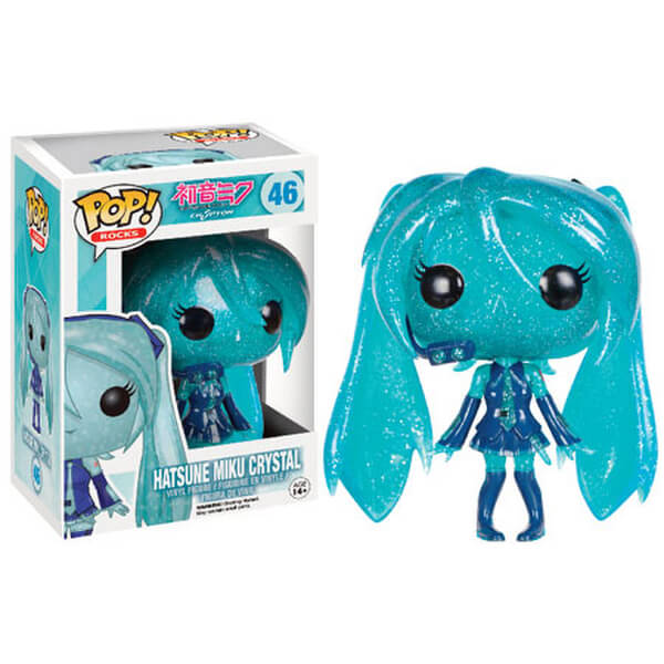 Vocaloid Crystal Hatsune Miku Pop Vinyl Figure