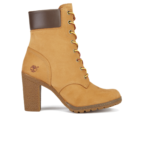 Timberland Women's Glancy 6 Inch Boots - Wheat Nubuck
