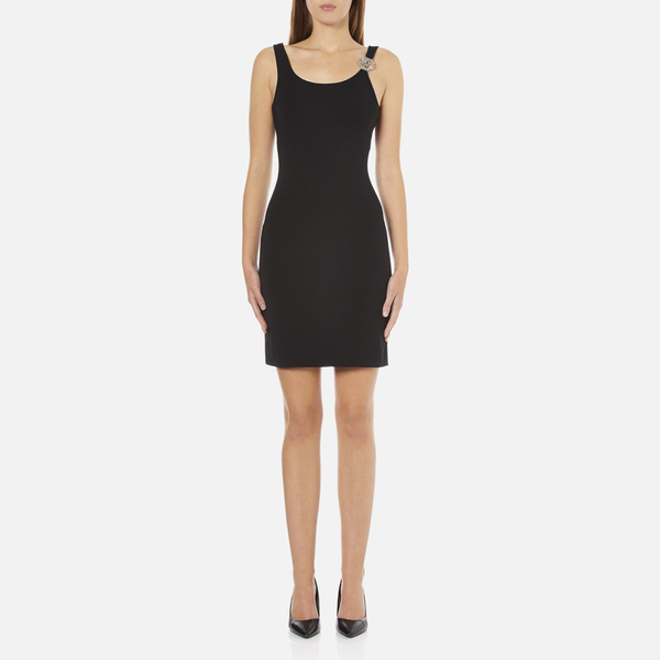 Versus Versace Women's Jersey Sleeveless Dress - Black