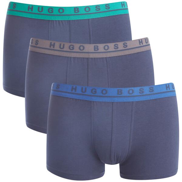 BOSS Hugo Boss Men's 3 Pack Trunks - Multi