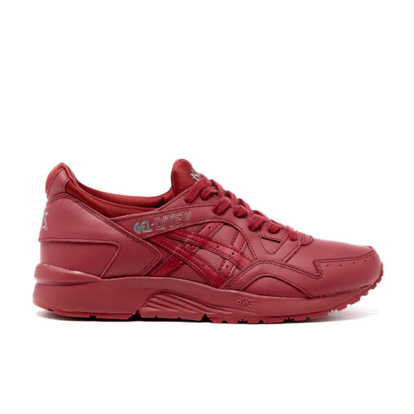 Asics Men's Gel-Lyte V Trainers - Burgundy