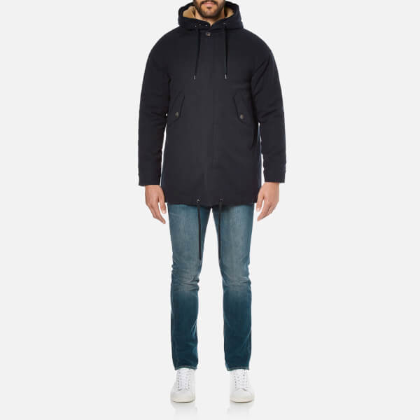 A Kind of Guise Men's Bug Parka - Dark Navy