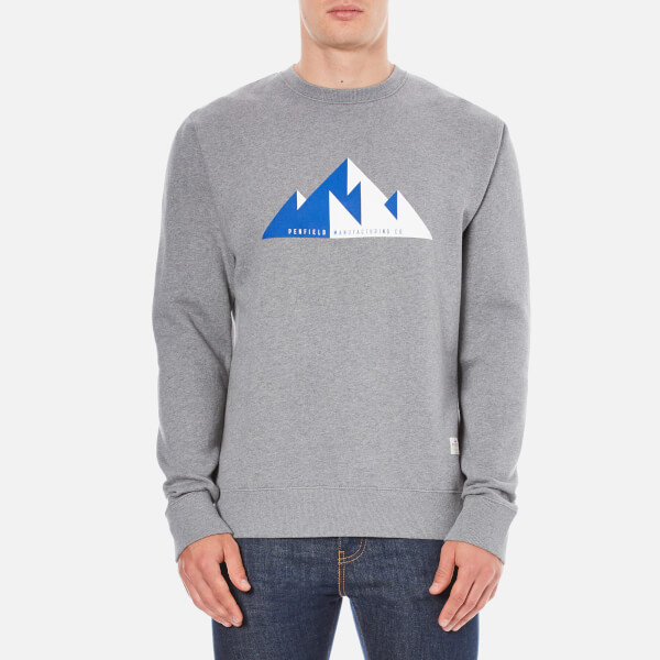 Penfield Men's Geo Sweatshirt - Grey