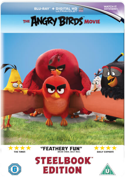 The Angry Birds Movie - Limited Edition Steelbook (UK EDITION)