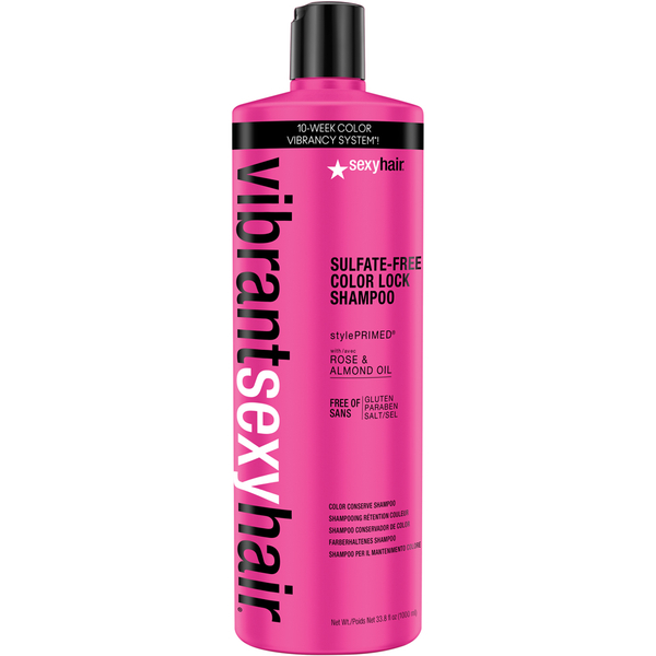Champú Vibrant Color Lock de Sexy Hair 1000 ml