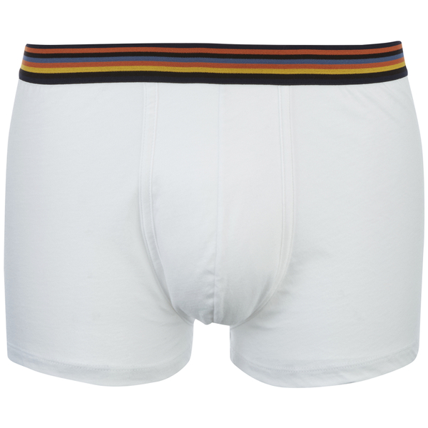 Paul Smith Accessories Men's Pima Cotton Boxer Trunks - White