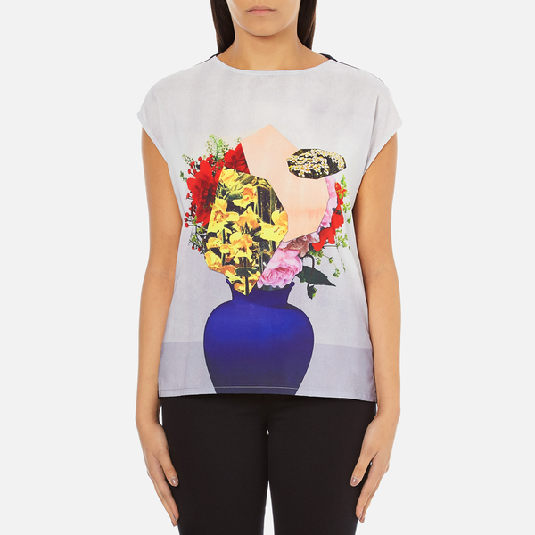 PS by Paul Smith Women's Floral Vase Pauls Photo T-Shirt - Multi