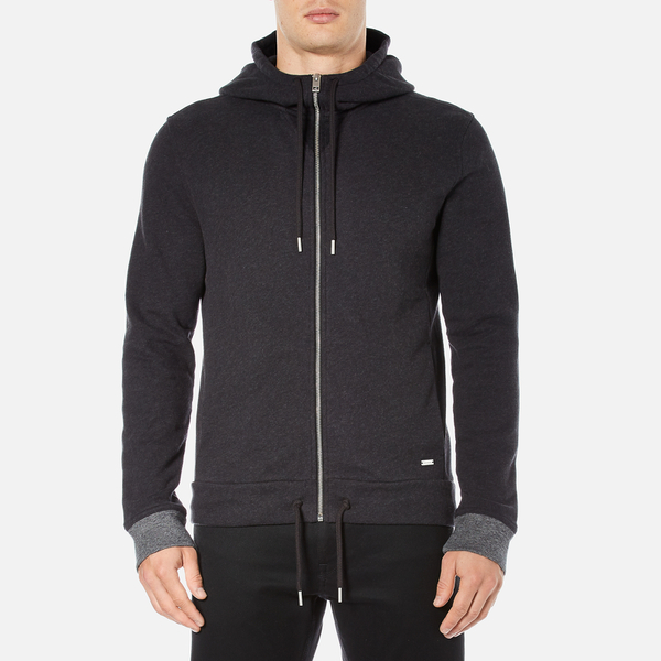BOSS Orange Men's Ztager Zipped Hoody - Black