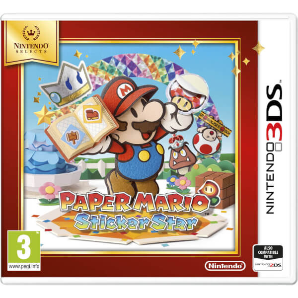 Nintendo Selects Paper Mario: Sticker Star
