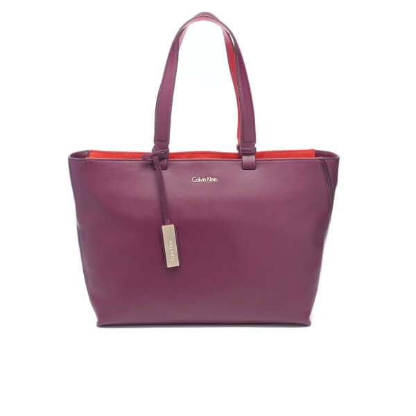 Original Calvin Klein Womens Gemma Studio Satchel Crossbody Bag