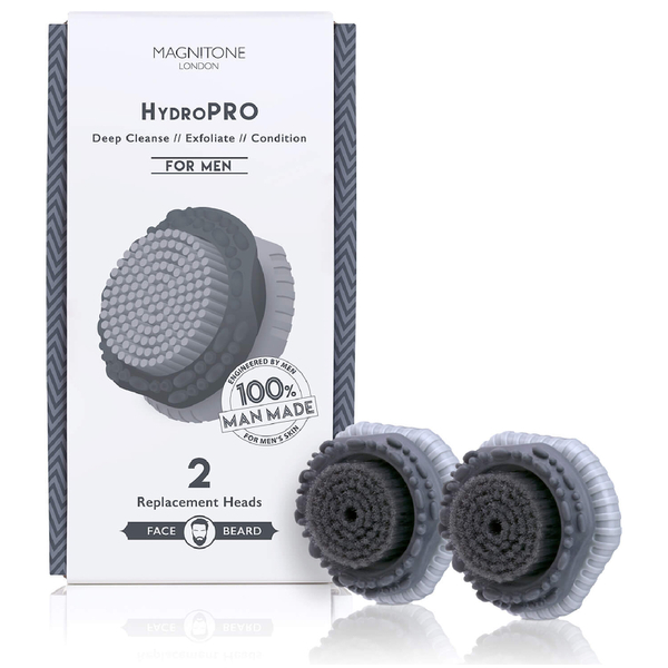 Magnitone London HydroPRO BrushHead for Men (x 2)