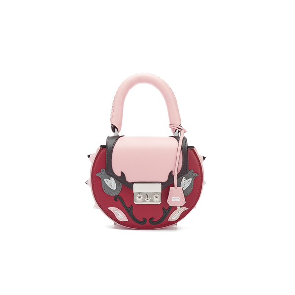 SALAR Women's Mimi Marie Rose Bag - Red/Multi