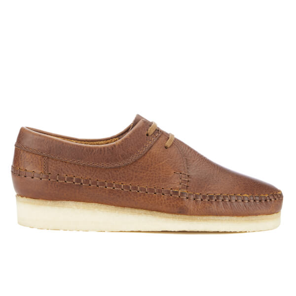Clarks Originals Men's Weaver Shoes - Tan Leather