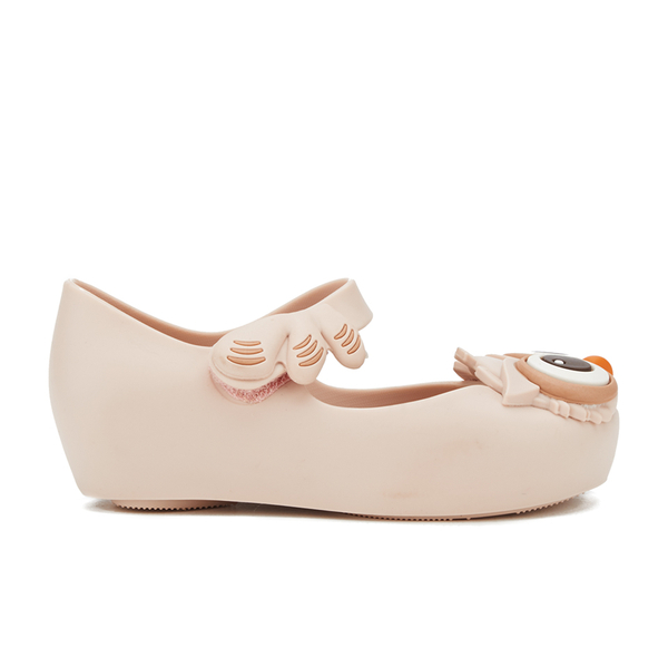 Mini Melissa Toddlers' Ultragirl Owl Ballet Flats - Baby Pink