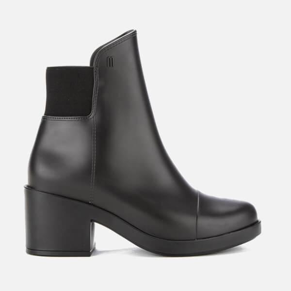 Melissa Women's Elastic Heeled Ankle Boots - Black