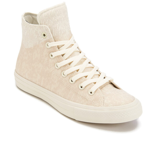 newest 88594 25bb0 Converse Men s Chuck Taylor All Star II Translucent Rubber Hi-Top Trainers  - Buff