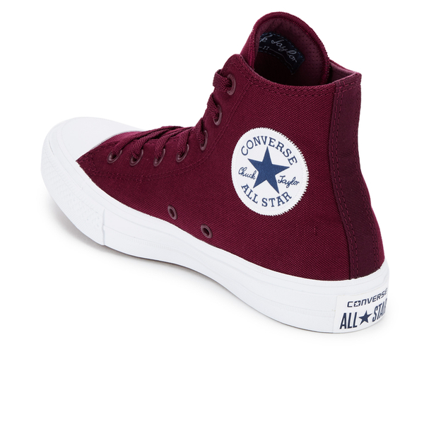 converse chuck taylor all star ii deep bordeaux