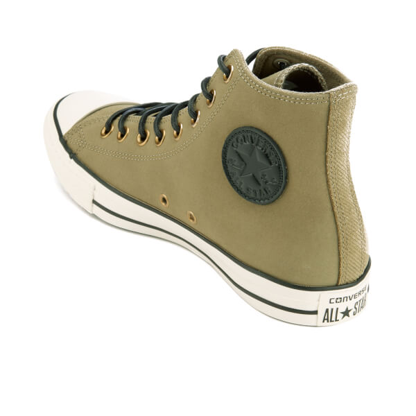 c33576822597a6 Converse Men s Chuck Taylor All Star Leather Corduroy Hi-Top Trainers -  Jute