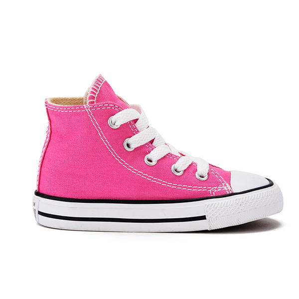 Converse Toddler Chuck Taylor All Star Hi-Top Trainers - Mod Pink  Image 1 7765b63228