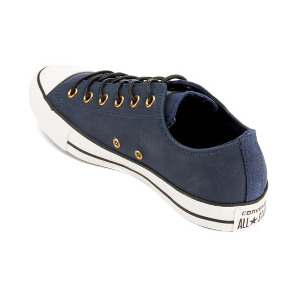 18278d2cd16381 Converse Men s Chuck Taylor All Star Leather Corduroy Ox Trainers -  Obsidian Egret