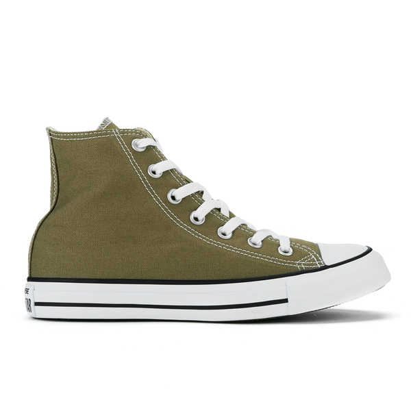 Converse Chuck Taylor All Star Hi-Top Trainers - Jute: Image 1