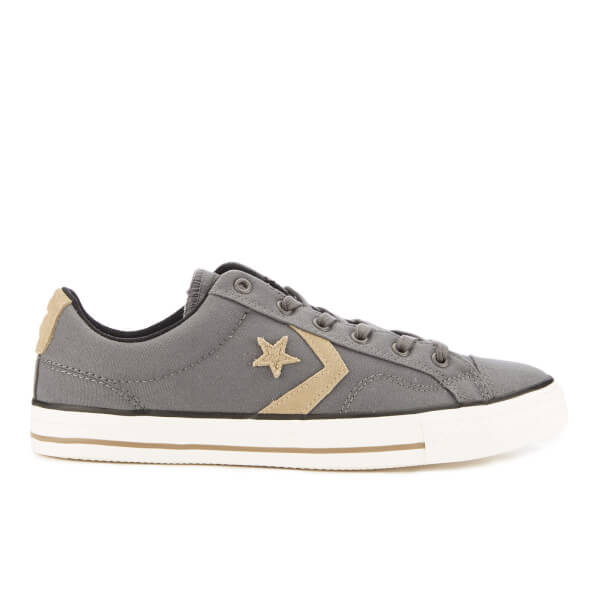 Converse CONS Men's Star Player Canvas Ox Trainers - Thunder/Sandy/Black:  Image
