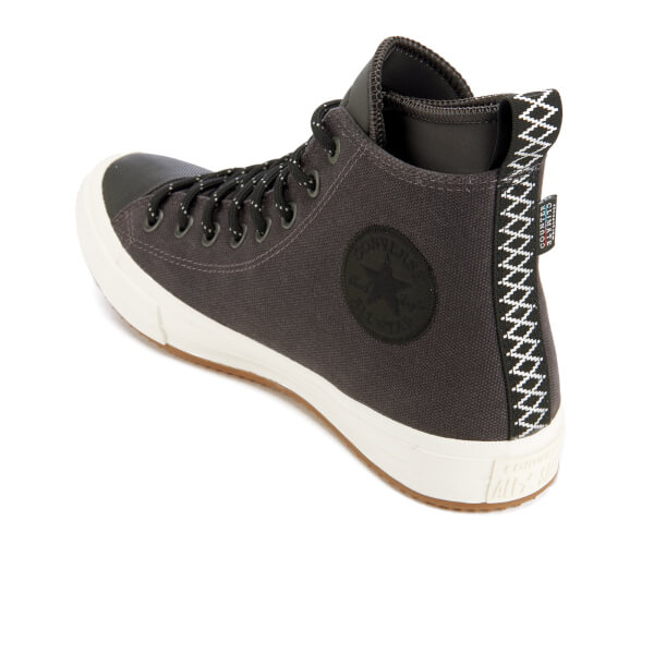 911301a8c581 Converse Men s Chuck Taylor All Star II Shield Canvas Hi-Top Trainers -  Almost Black