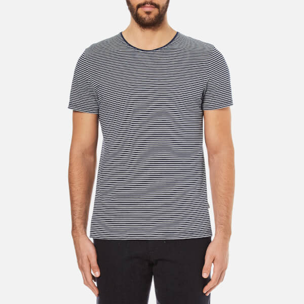 Oliver Spencer Men's Japura T-Shirt - Navy/Oatmeal