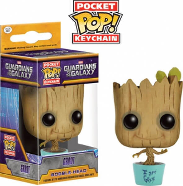 Baby Groot Ltd Ed Pocket Pop Keychain Pop In A Box Uk