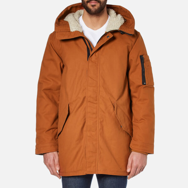 Converse Men's Quilted Fishtail Parka - Antique Sepia Clothing ...